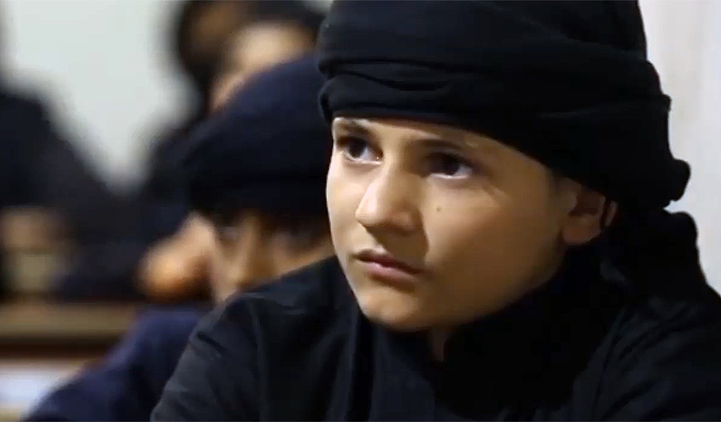 ISIS child fighter