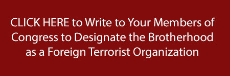 Write to your Congress representatives http://go.clarionproject.org/muslim-brotherhood-act-to-impact/
