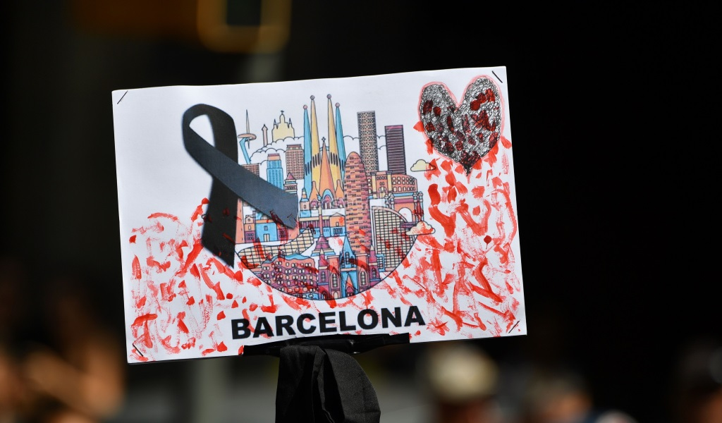 Remembering the victims of the Barcelona terror attacks on August 17, 2017.