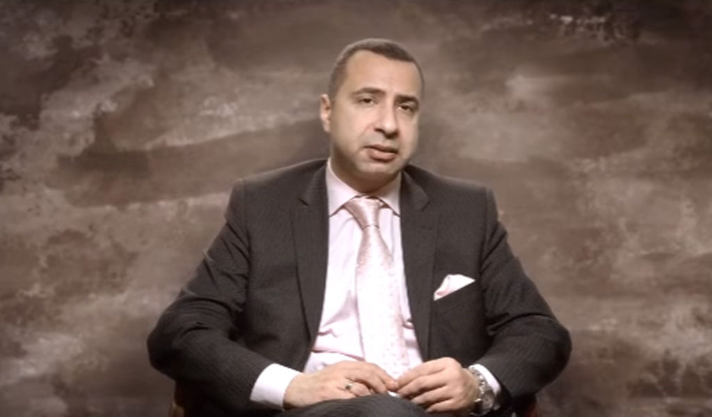 Rev. Majed el Shafie (Video screenshot: Clarion Project)