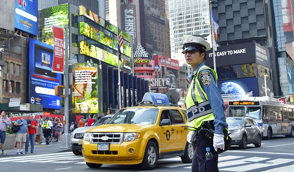 Security in Times Square