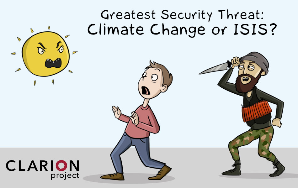 climate change or ISIS
