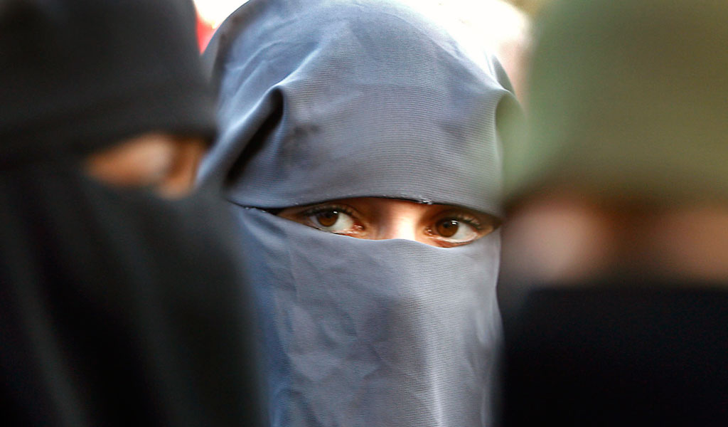 against banning full face veils Denmark has banned full-face veils some traditional muslim women now feel discriminated against they fear it will make it impossible for them to leave thei.