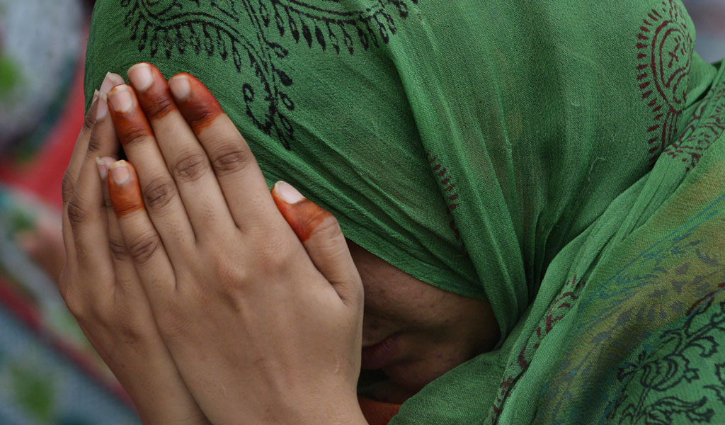 Illustrative photo of a woman in Pakistan