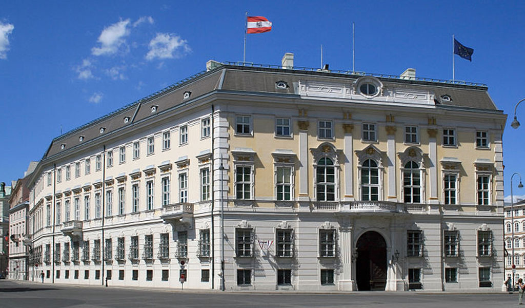 The Chancellery in Vienna (offices of the president)