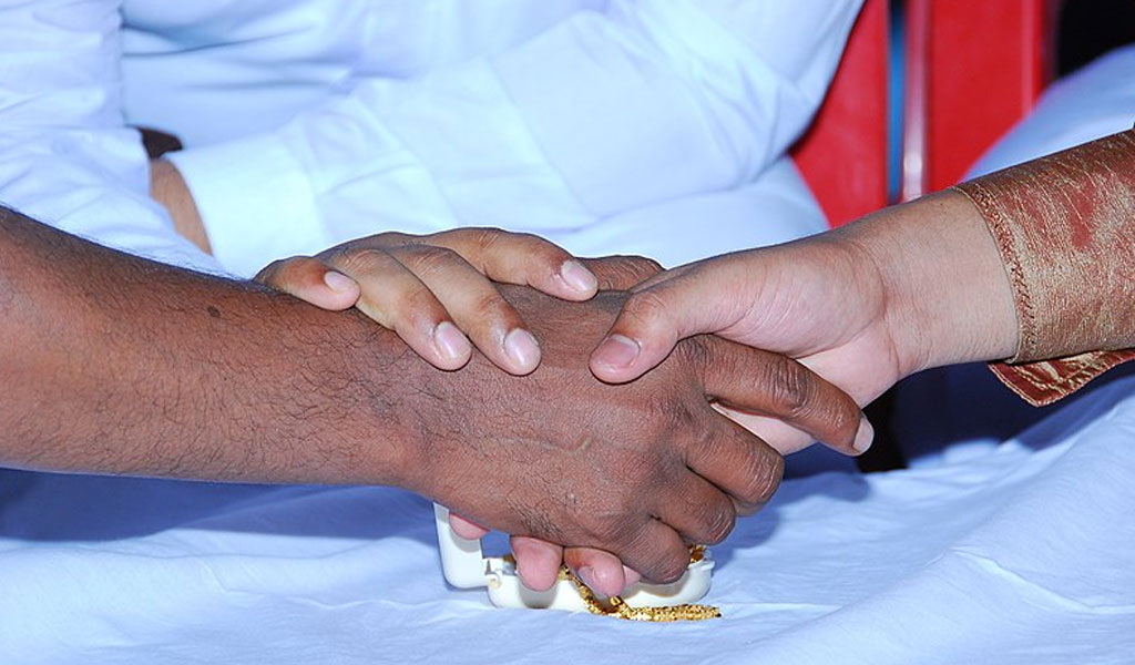 Illustrative photo of from a Muslim wedding