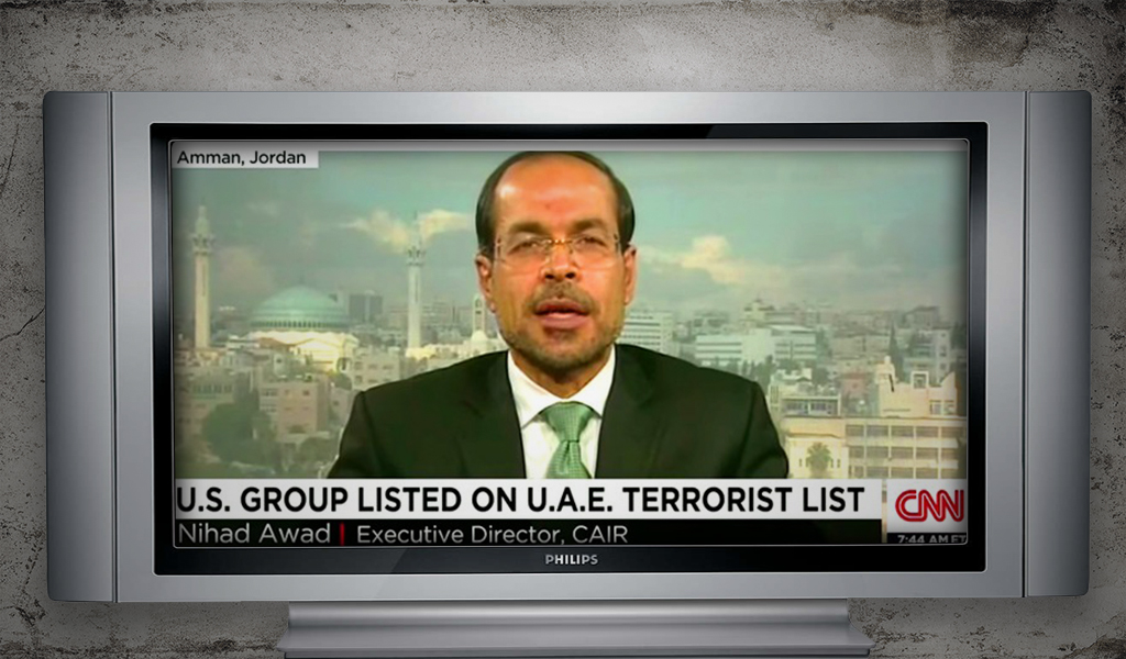CNN reports on the United Arab Emirate's designation of CAIR as a terrorist entity