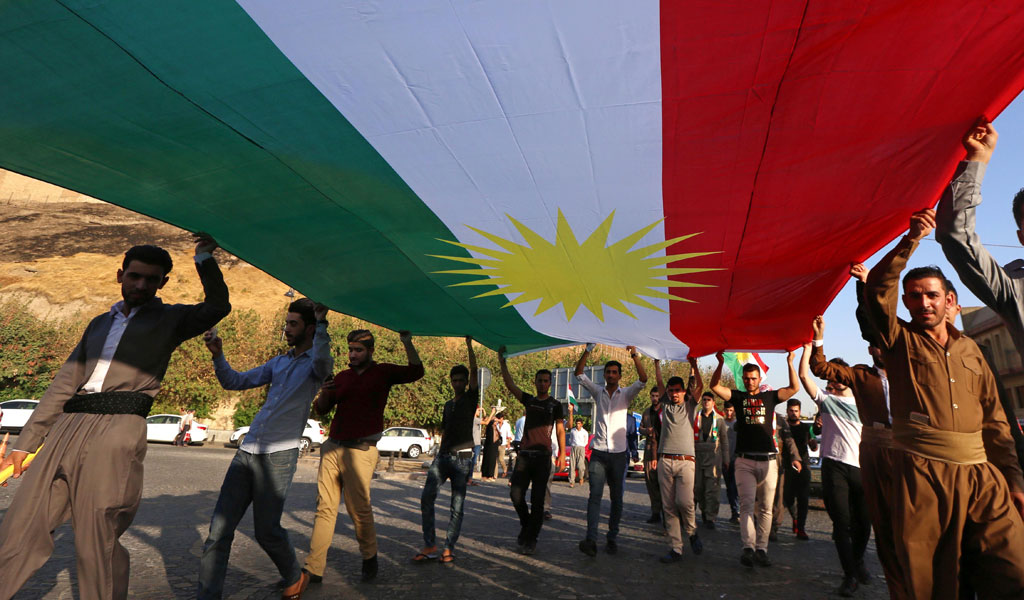 Kurds in Iraq rally for independence