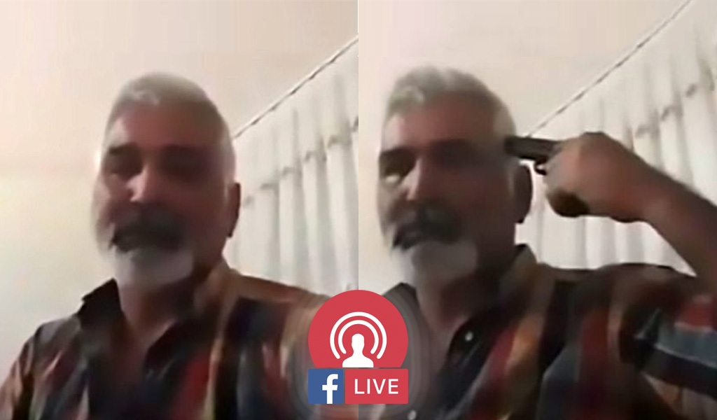 Ayhun Uzun, who reportedly killed honor himself on Facebook Live