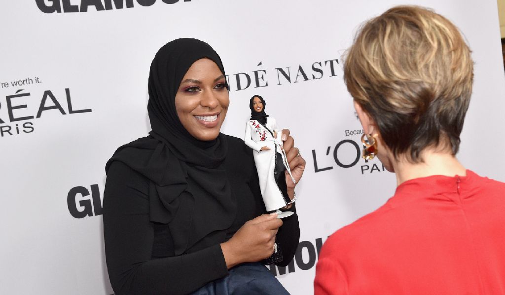 Ibtihaj Muhammad at Glamour Magazine's Women of the Year Awards. (Photo: Bryan Bedder/Getty Images)