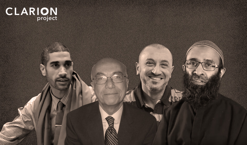 Anti-Semitic Teachers at the Boston Islamic Seminary (left to right): Hisham Mahmoud, Yahia Abdul Rahman, Amr El-Fass and Suheil Laher.