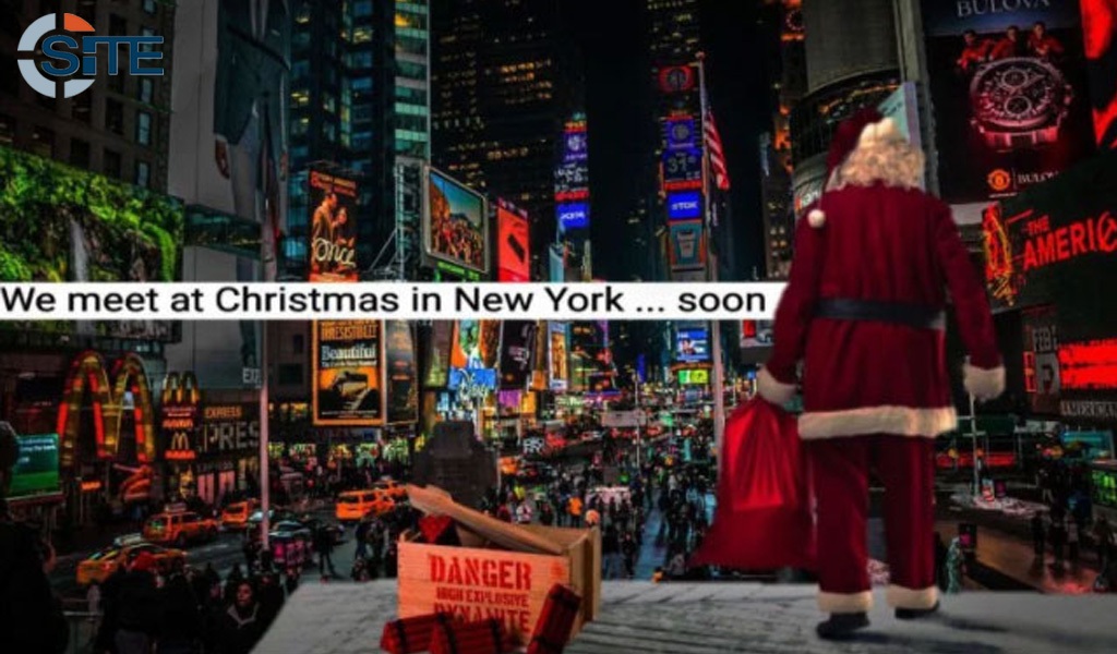 ISIS issues a threat against Times Square at Christmastime