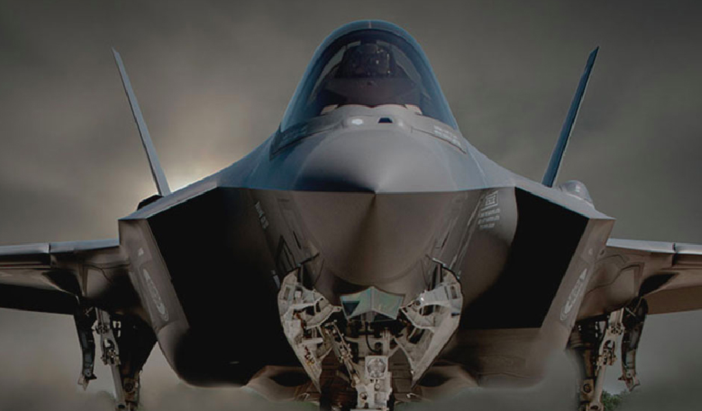 An American fighter jet. (Photo: www.airforce.com)