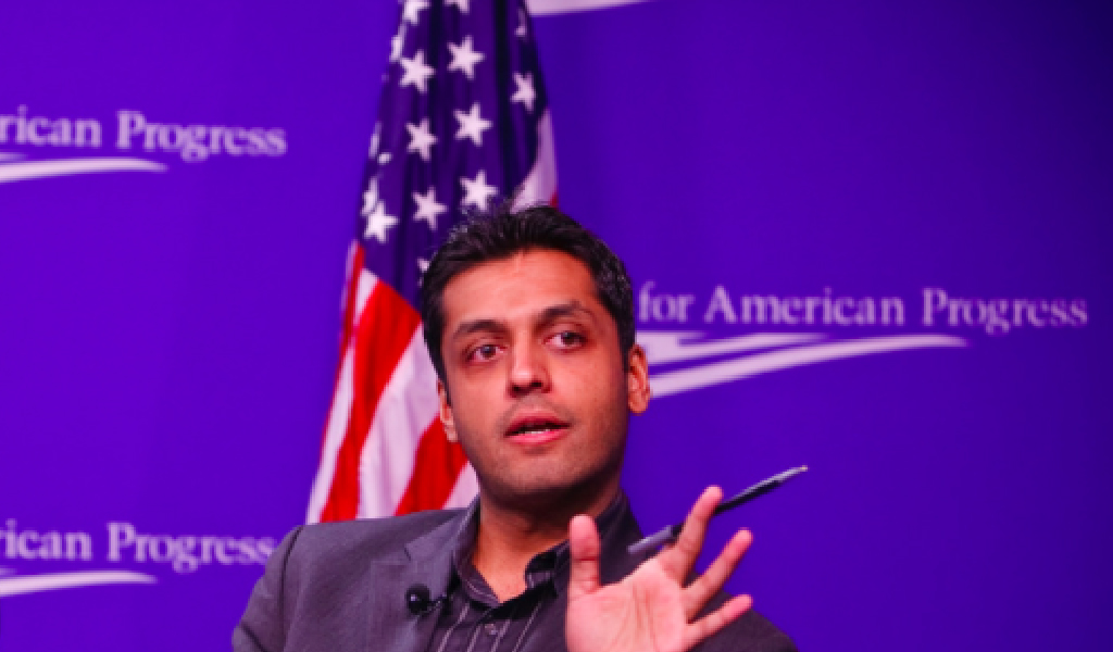 Wajahat Ali, who was disinvited from a December event over his ties to Zionists. (Photo: Center for American Progress/Creative Commons)