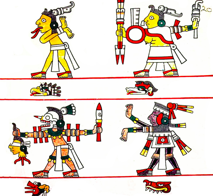 Illustrative picture from an Aztec codex. (Photo: Wikimedia Commons)