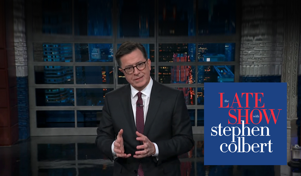 The Late Show's host Stephen Colbert