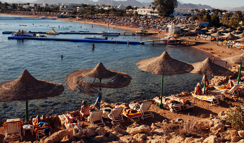 Resorts like this one in Sharm el-Sheik were popular until 2015 when terrorists downed a Russian jetliner full of returning tourists