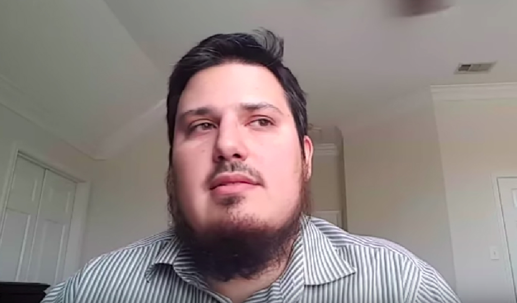 American Islamist Daniel Haqiqatjou. (Photo: Screenshot from video)