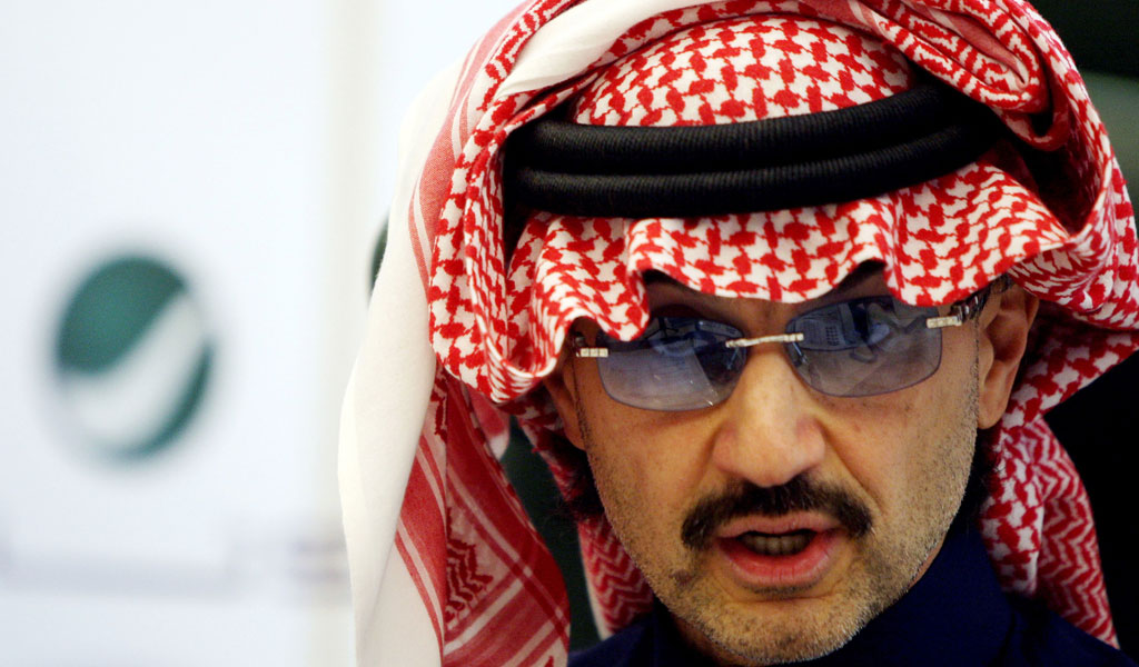 Georgetown University's H.R.H. Prince Alwaleed bin Talal Center for Muslim-Christian Understanding received $20 million from Saudi Prince Alwaleed bin Talal. The center promotes propaganda not allowed under the university's tax-exempt status. (Photo: AFP/Getty Images)