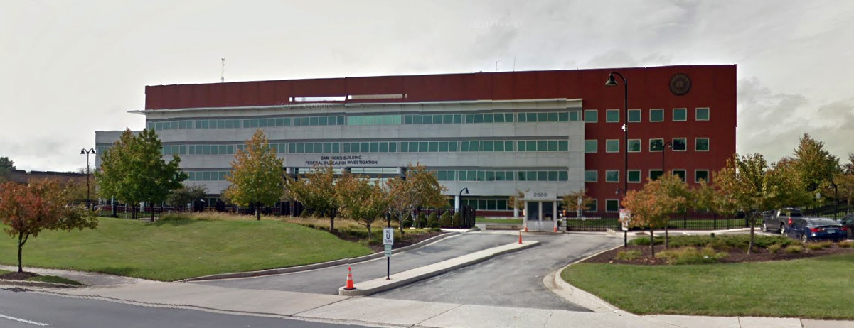 FBI offices in Baltimore, Maryland (Photo: Google Street View)