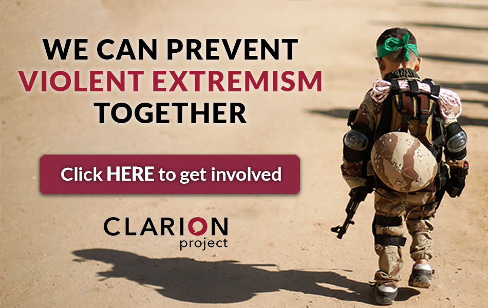Get involved in our campaign: www.ClarionProject.org/PVE