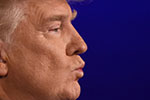 Donald Trump in profile (Photo: TIMOTHY A. CLARY / AFP / Getty Images)