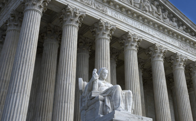 The U.S. Supreme Court Building in Washington, D.C. (Photo by Robert Alexander / Getty Images)