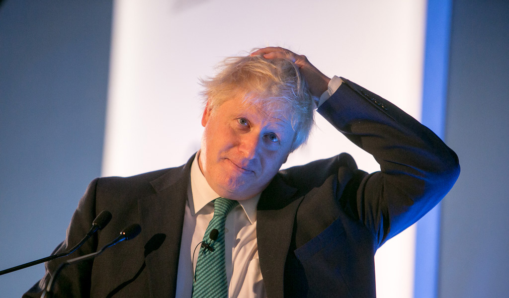 Former UK foreign secretary Boris Johnson (Photo: Chatham House / Flickr - https://creativecommons.org/licenses/by/2.0/)