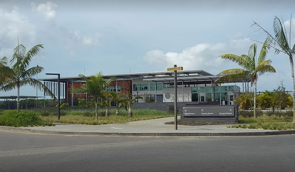 US embassy in Suriname (Photo: Google Maps)