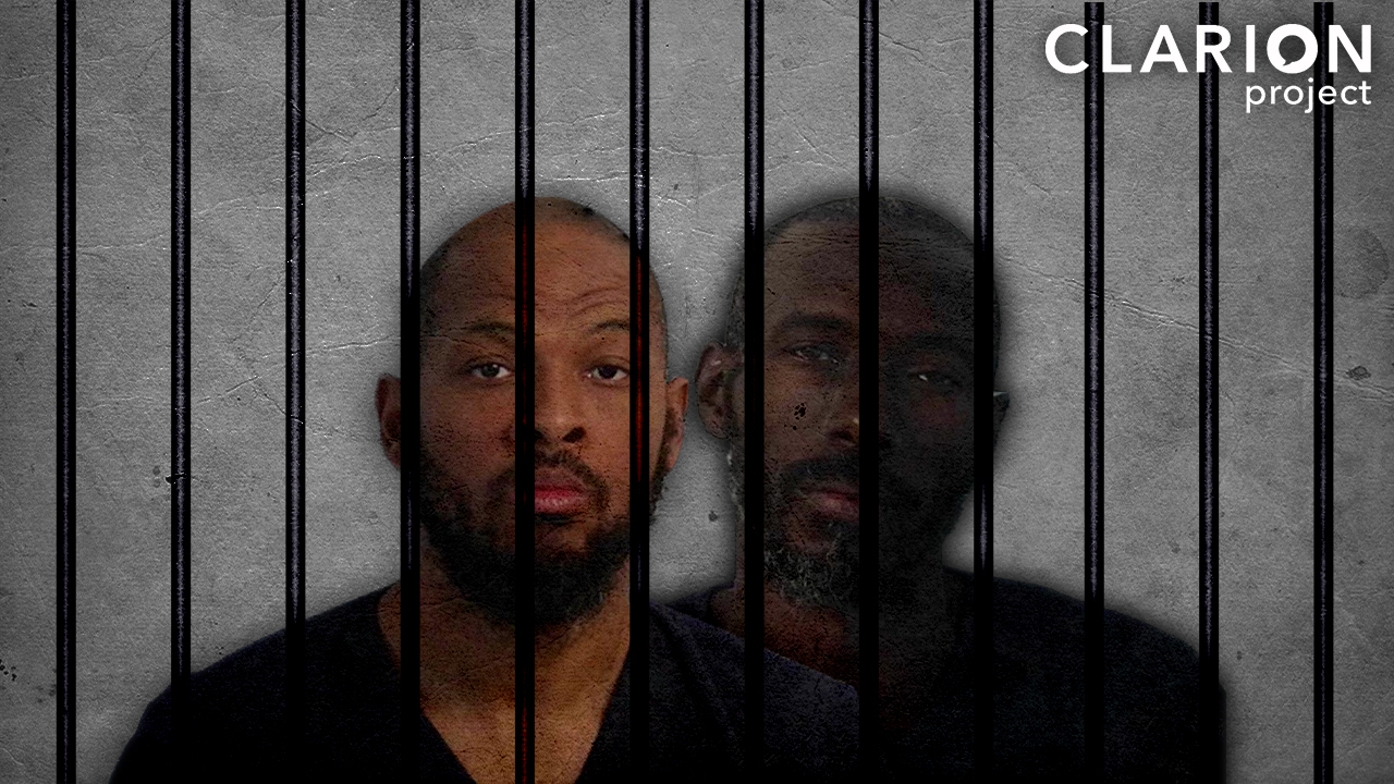 Two of the New Mexico defendants Siraj ibn Wahhaj and Lucas Morton (Photo: Clarion Project)