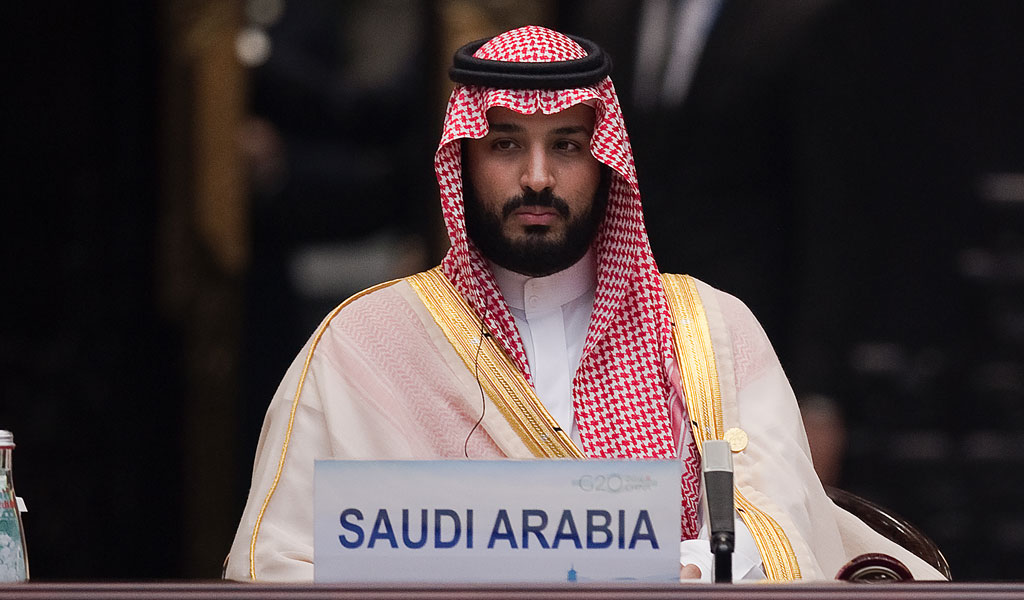 Saudi Crown Prince Mohammed bin Salman attends the G20 opening cermony in China at the Hangzhou International Expo Center (Photo: Nicolas Asfouri - Pool/Getty Images)