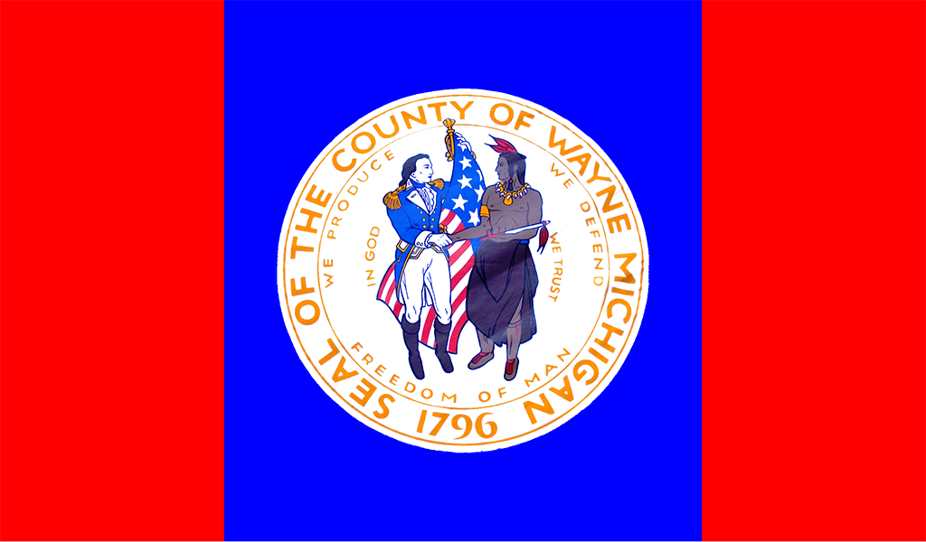 Flag of Wayne County (Image: Wiki Commons / County of Wayne)