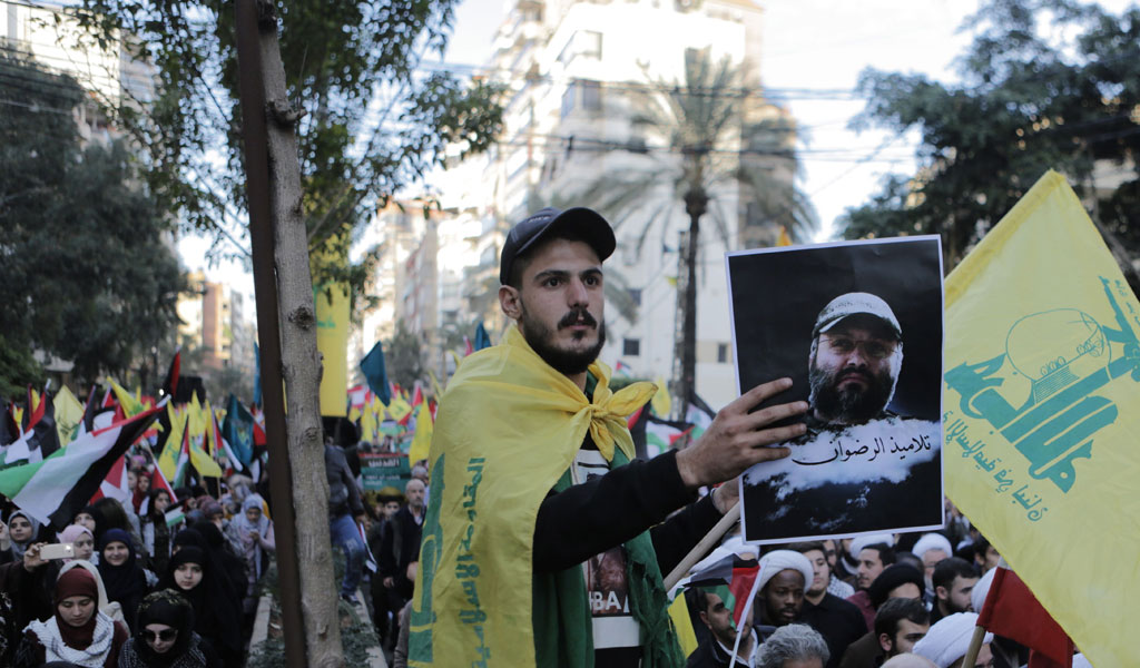 A rally in support of Hezbollah in Lebanon (Photo: AFP/Getty Images)