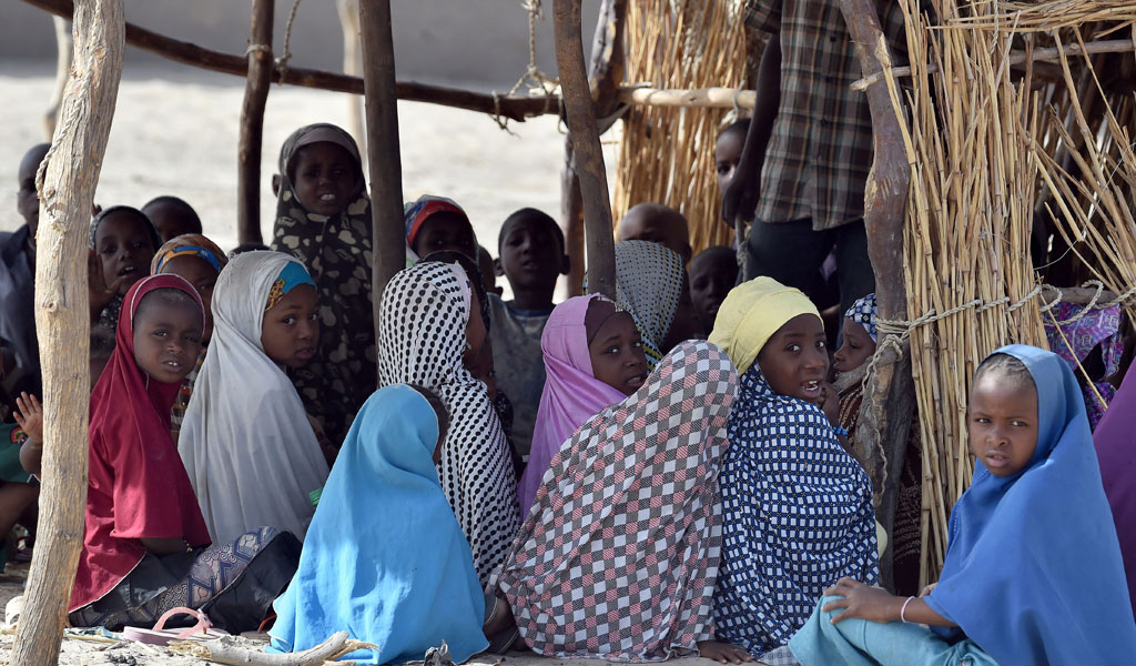 Girls in Niger attend a Quranic school. (Photo: ISSOUF SANOGO/AFP/Getty Images)