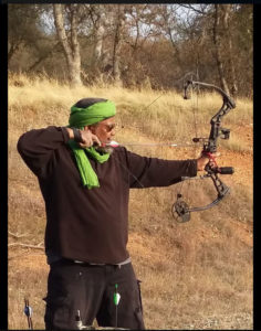 Na'il Karim, leader and owner of the Miraj compound (Photo: Posting from Karim's Facebook page)