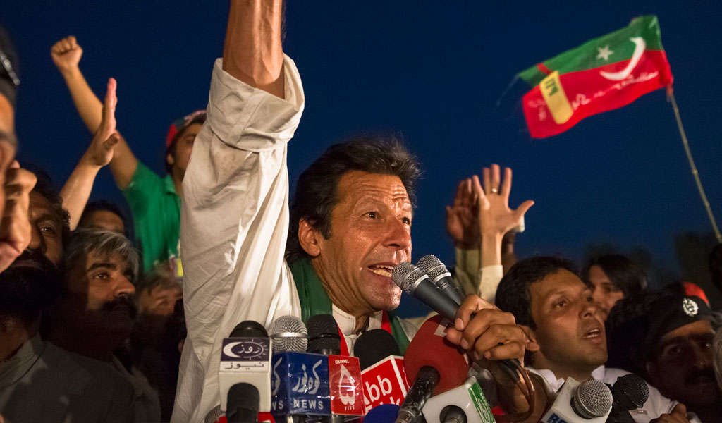 Pakistan's Prime Minister Imran Khan (Photo: Daniel Berehulak/Getty Images)