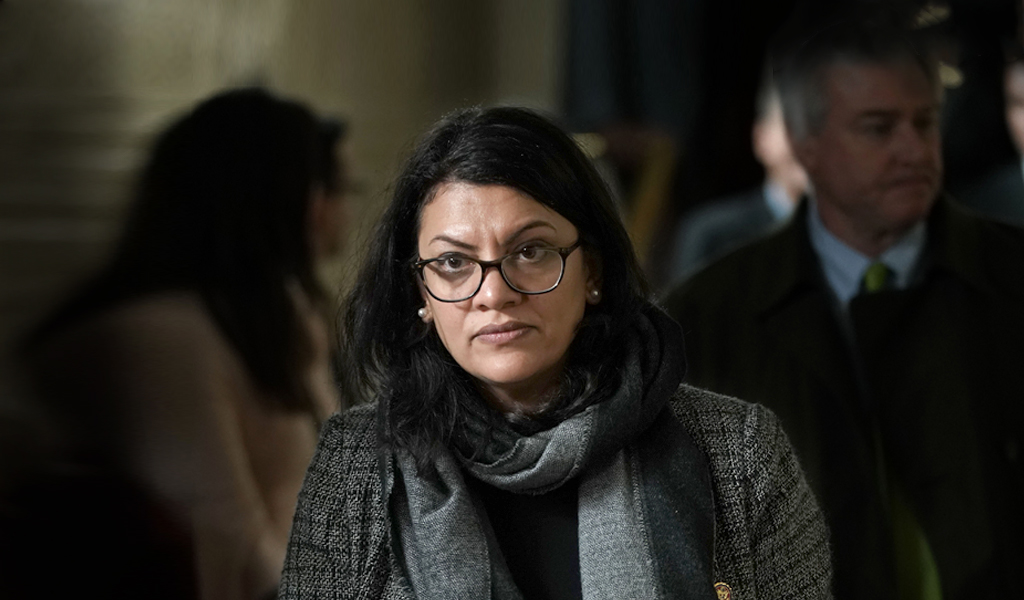Congresswomen Rahida Tlaib in the Capitol building (Photo: Alex Wong/Getty Images)
