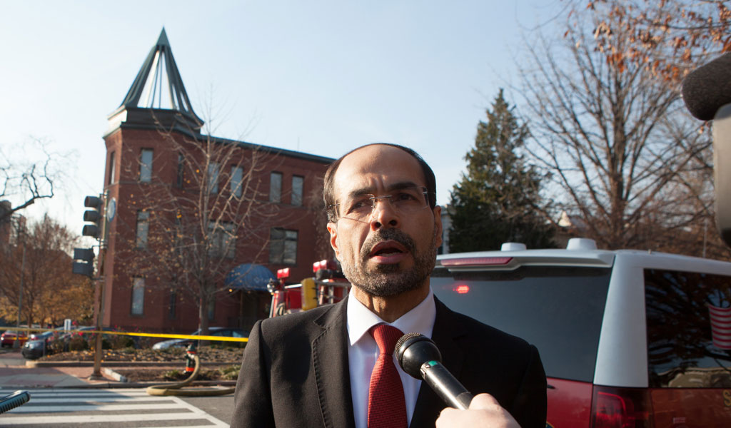 CAIR founder and executive director Nihad Awad (Photo: Allison Shelley/Getty Images)