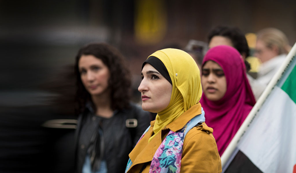 Linda Sarsour has made antisemitic comments that employ a Nazi tactic used against the Jews in World War II (Photo by Drew Angerer/Getty Images)