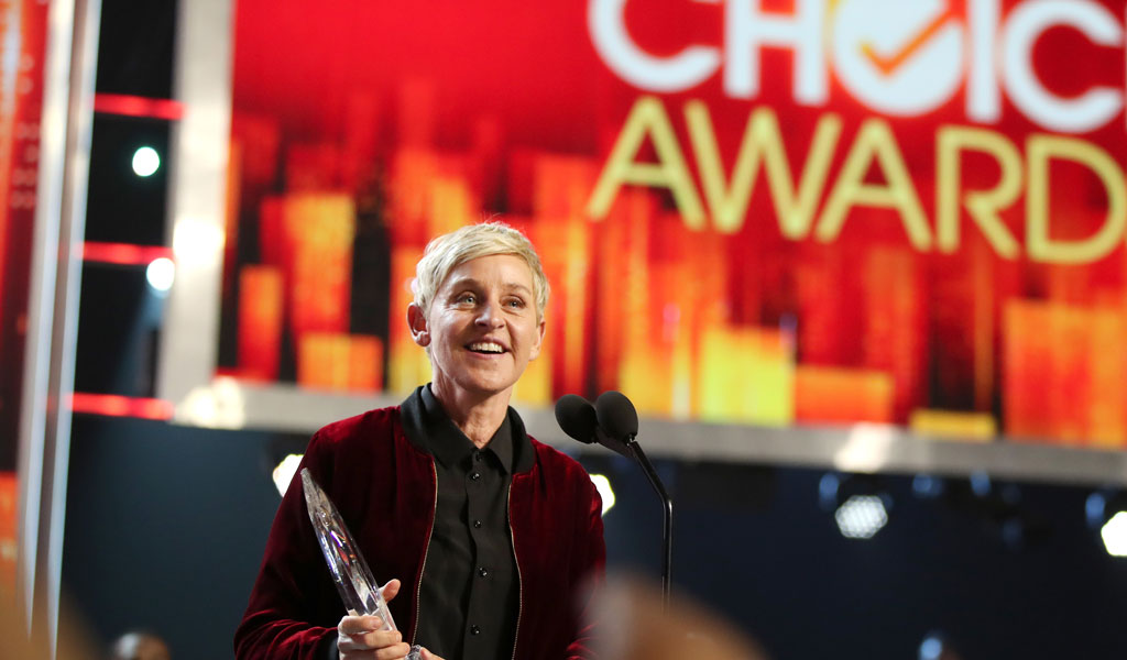 Ellen DeGeneres (Photo: Christopher Polk/Getty Images)