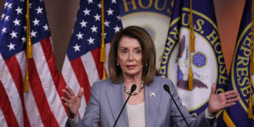 Blame for inviting an anti-Semitic, terror-supporting Islamist to give the invocation in Congress must rest at the top with Speaker Nancy Pelosi (pictured above) (Photo: Win McNamee/Getty Images)