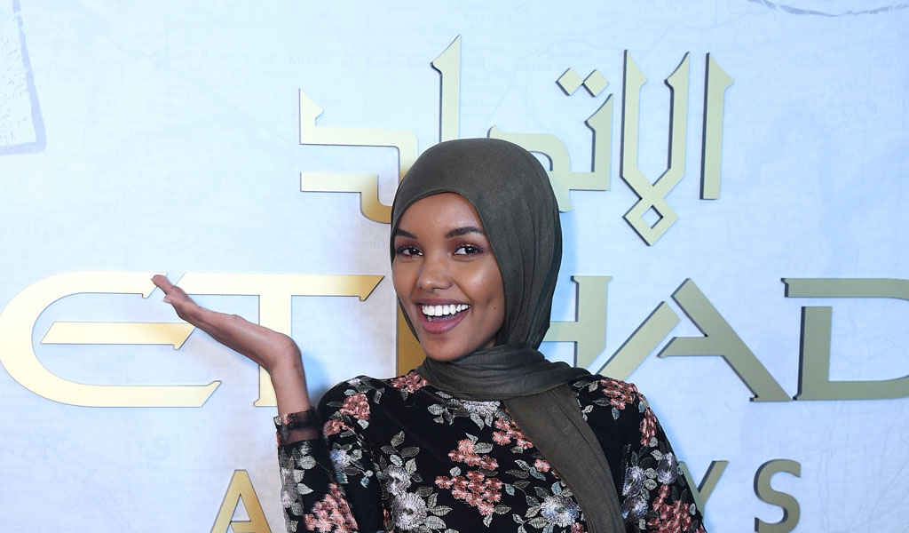 Halima Aden (Photo: Bryan Bedder/Getty Images for IMG)