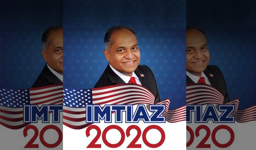 Campaign material from Andy Imtiaz