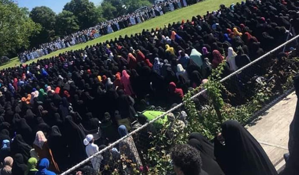Philadelphia Eid prayers 2019 (Photo: Twitter)