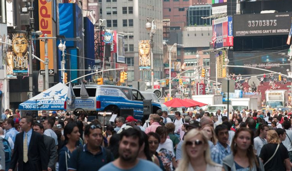 Times Square (Photo: U.S. Air Force/Lance Cheung)