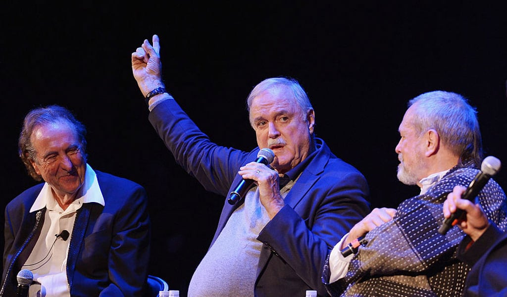 Is Monty Pythons John Cleese A Very Naughty Boy