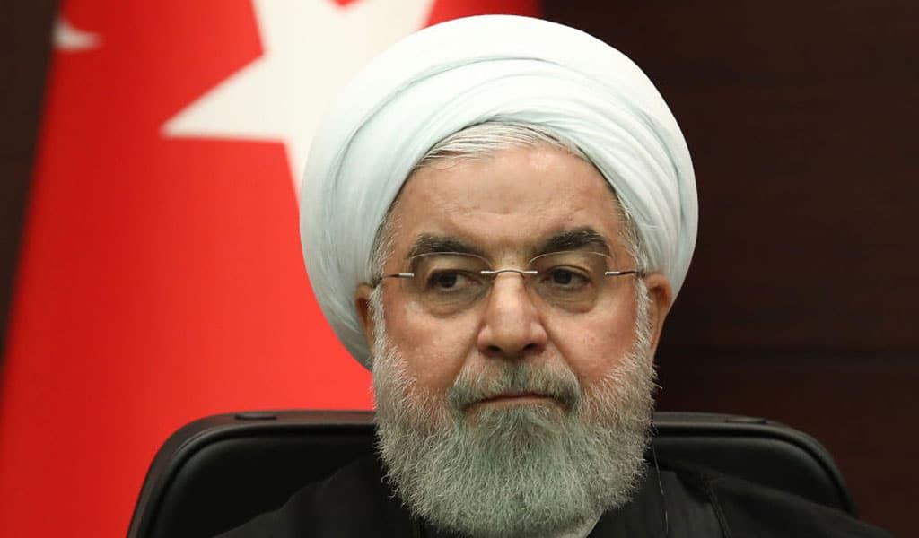 Iranian President Hassan Rouhani (Photo: ADEM ALTAN/AFP/Getty Images)