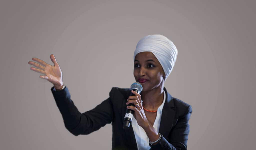 Congresswoman Ilhan Omar abstained from the vote in the House to recognize the Armenian genocide (Photo; Zach Gibson/Getty Images)