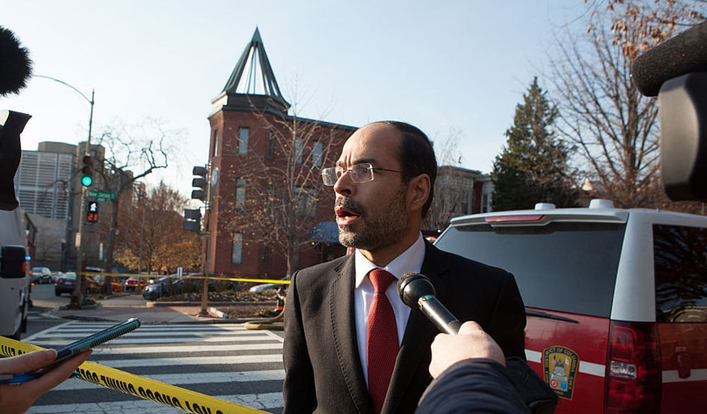 CAIR's Founder and Executive Director Nihad Awad (Photo: Allison Shelley/Getty Images)