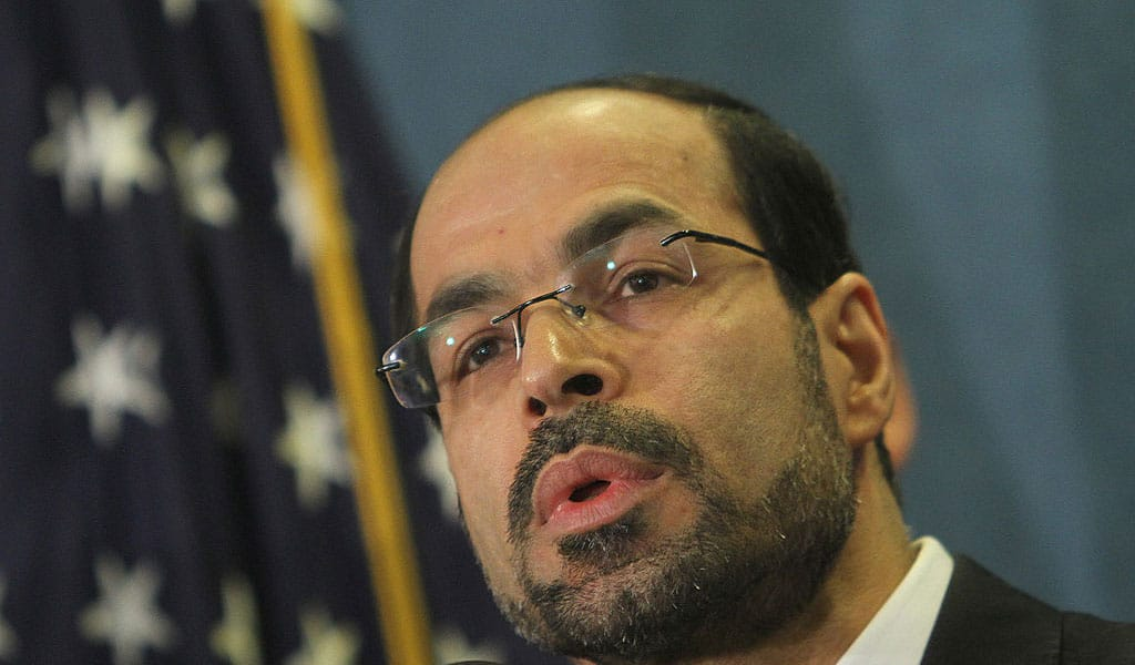 Founder and Executive Director of CAIR Nihad Awad (Photo: CHRIS KLEPONIS/AFP/Getty Images)